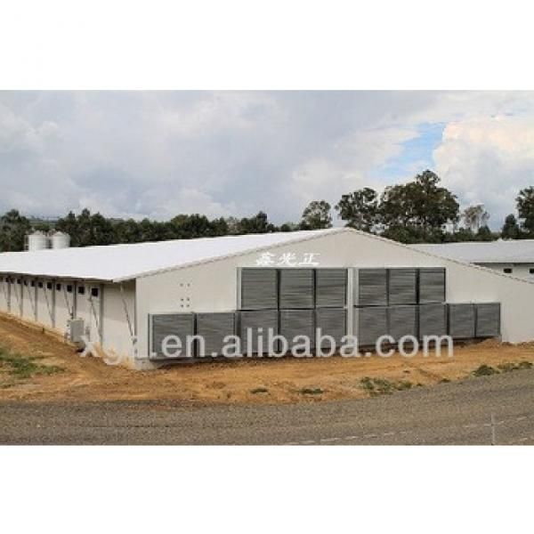 best price modern advanced chicken poultry shed design in africa #1 image