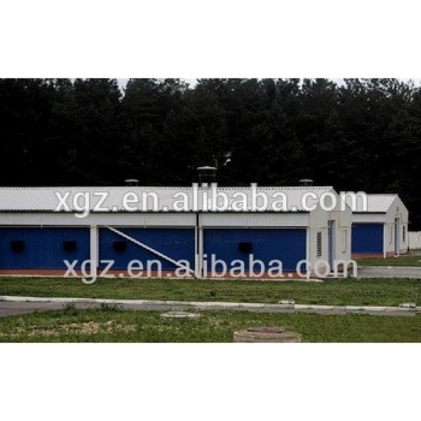 best price modern design prefab steel structure poultry control shed sale in nigeria #1 image