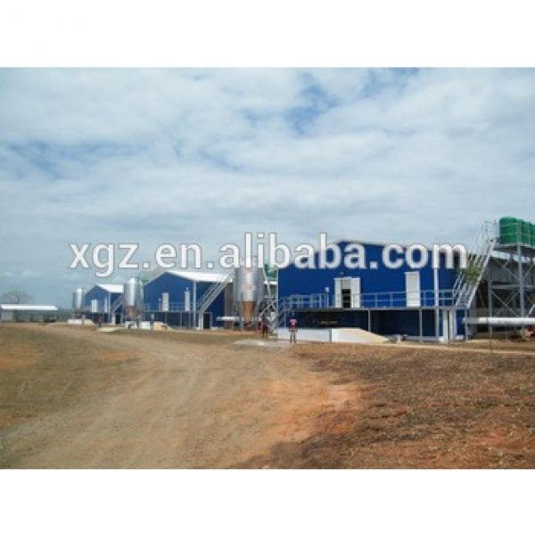 Hot selling Cheap chicken poultry house in Angola #1 image