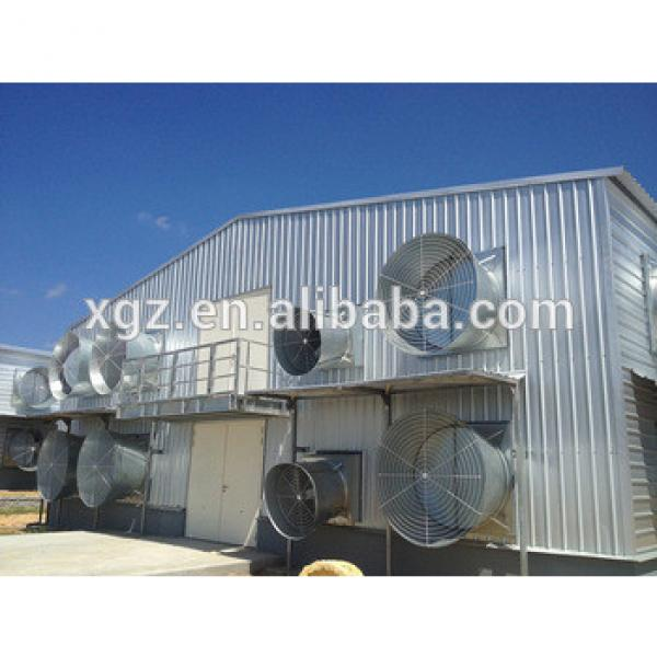 beautiful prefabricated house for poultry house #1 image