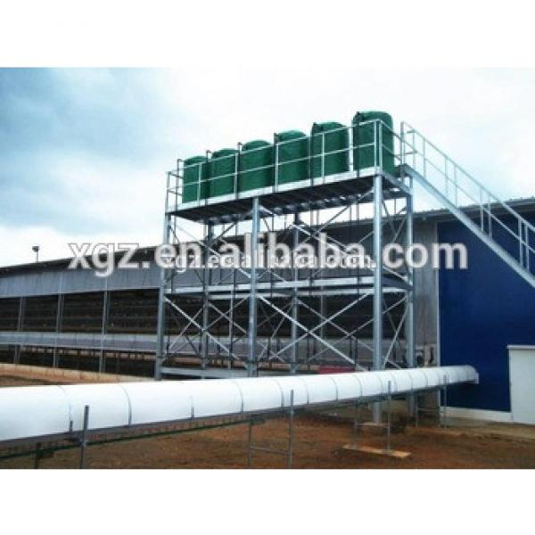 best price prefab steel structure layer chicken farm for sale in south africa #1 image