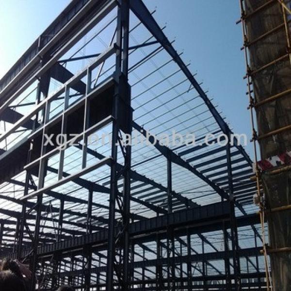 Steel building of garage workshop #1 image