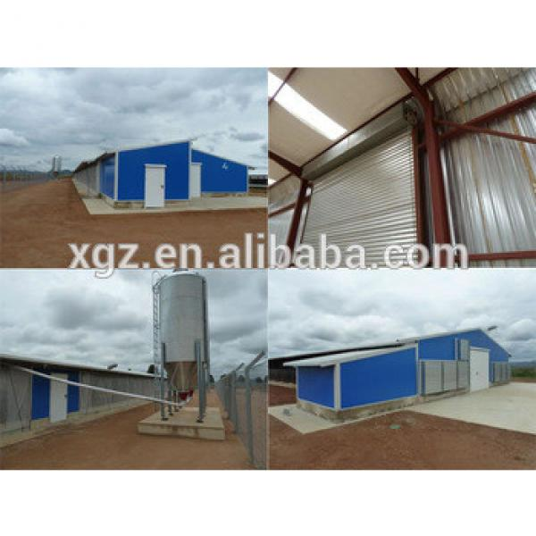 China steel prefab poultry house chicken farm #1 image