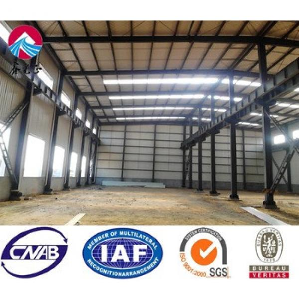 Steel Products Steel Structure Prefabricated Workshop Building #1 image