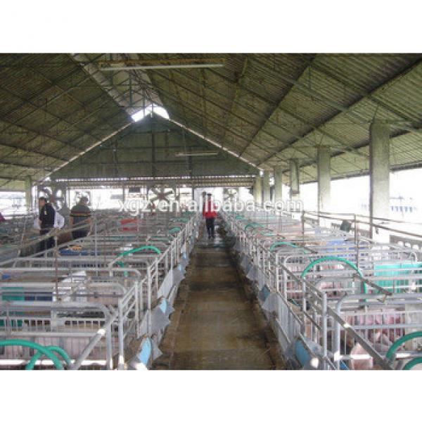 Prefab steel structure pig farm house #1 image