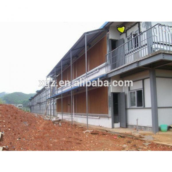 prefab two storey automatic breeder poultry house #1 image
