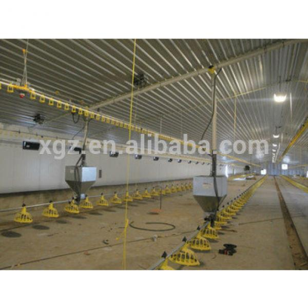 low cost prefabricated poultry house #1 image