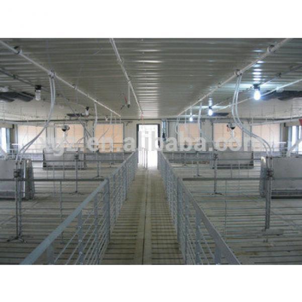 steel frame prefab pig pen #1 image