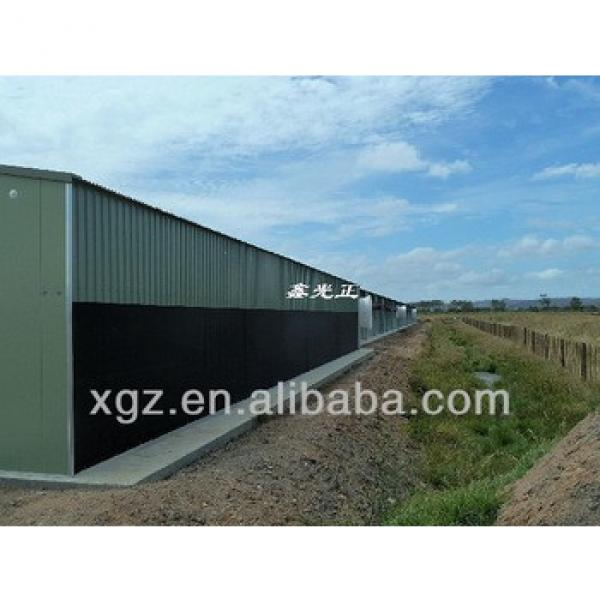 modern hot selling automatic types of sheds for broiler in nigeria #1 image