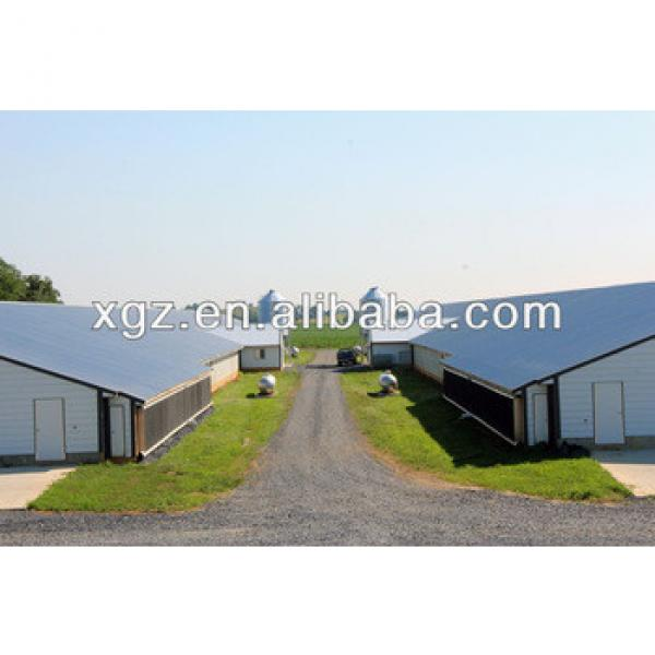 hot selling low price modern automatic chicken farm design in nigeria #1 image