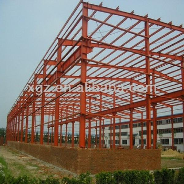 prefabricated factory steel structure #1 image