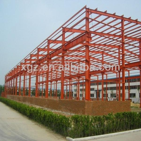 Light Steel Structure Building, Steel Structure Shed with Sandwich Panel #1 image