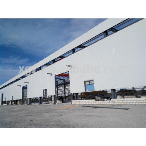 high quality prefabricated steel structural warehouse #1 image