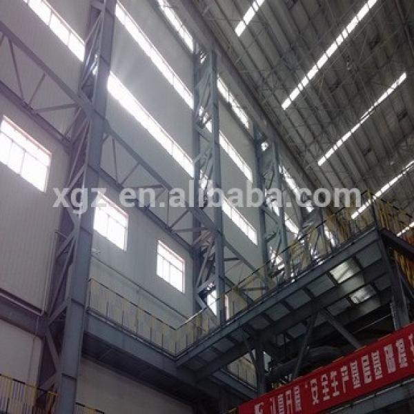 Steel structure fire eps sandwich panel warehouse #1 image