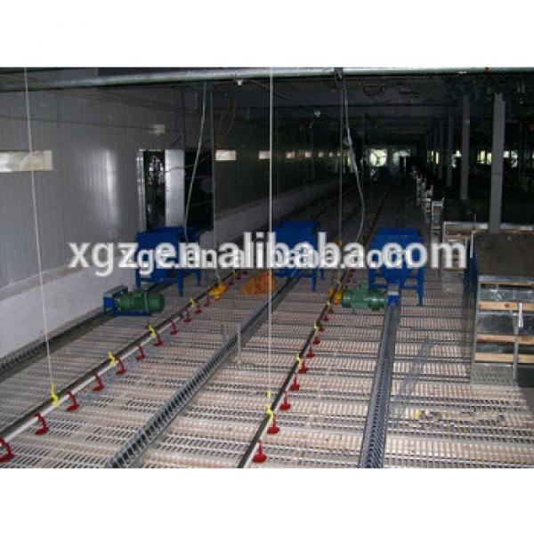 modern low price automatic slat floor for broiler farm #1 image