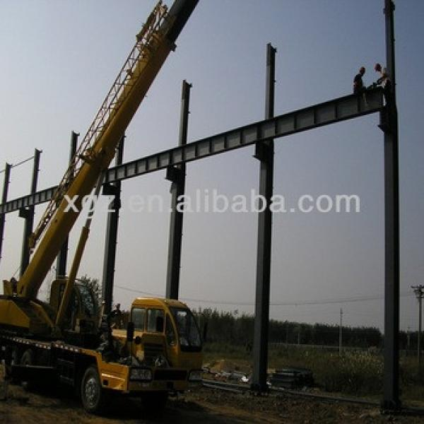 China qingdao light garage steel frame #1 image