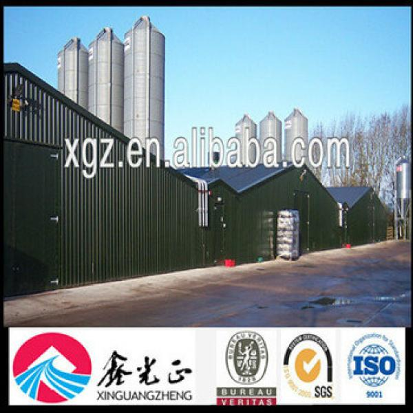 Sandwich Panel Poultry Farm Construction #1 image