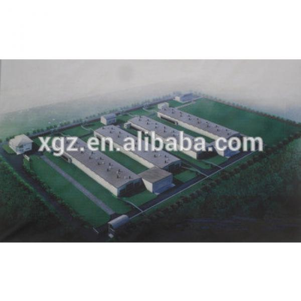 modern low price automatic chicken broiler house design #1 image