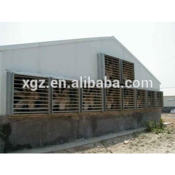 modern advnced automated low price metal chicken house #1 image