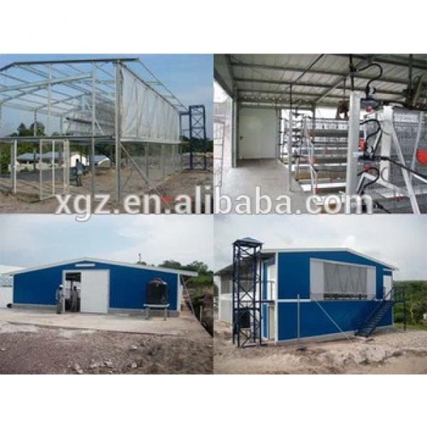 Q235 Steel Material Algeria chicken farms hot sale batteries for laying hens #1 image