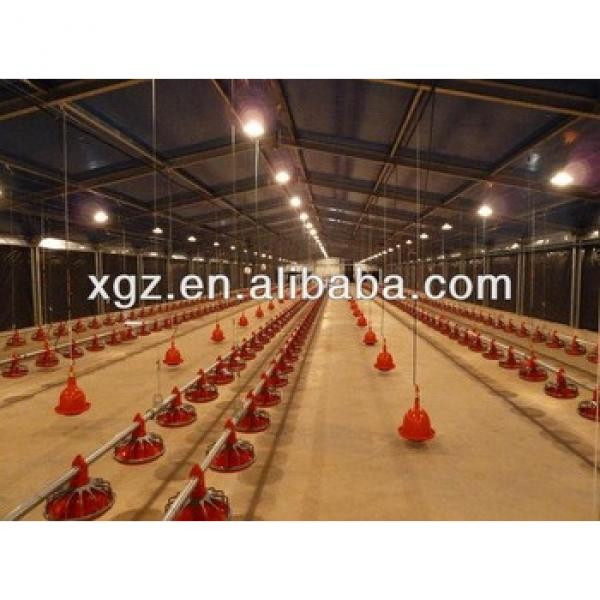 steel structure chicken house with full automatic equipment #1 image