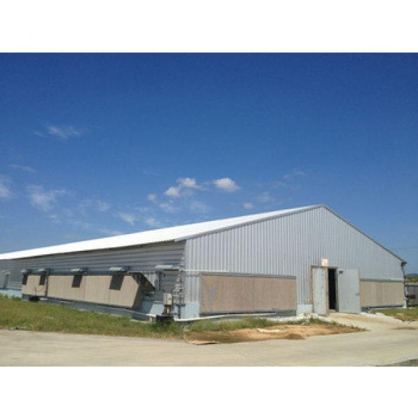 steel structure poultry building with full automatic equipment #1 image