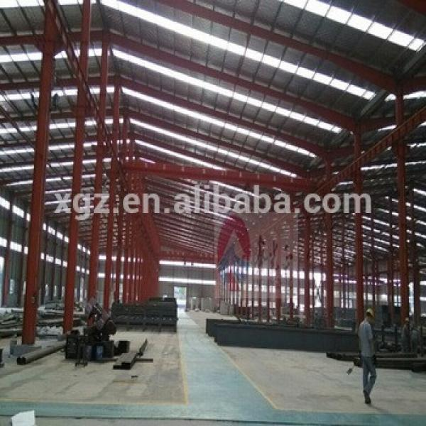 prefabricated large span cheapest qingdao warehouse #1 image