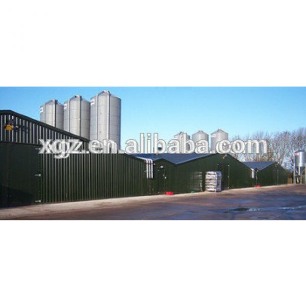 design modern nice appearance shed for poultry farm #1 image
