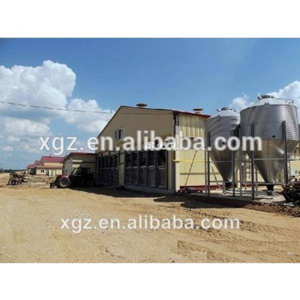 modern advnced automated low price chicken farm building #1 image