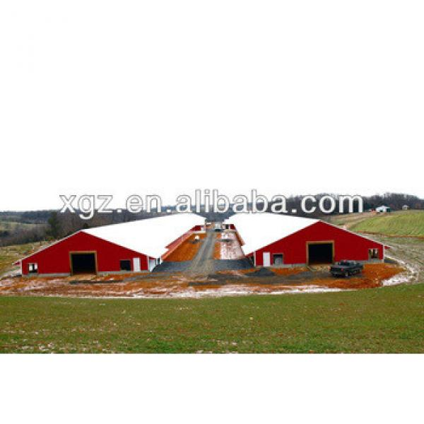 cheap steel structure chicken house #1 image