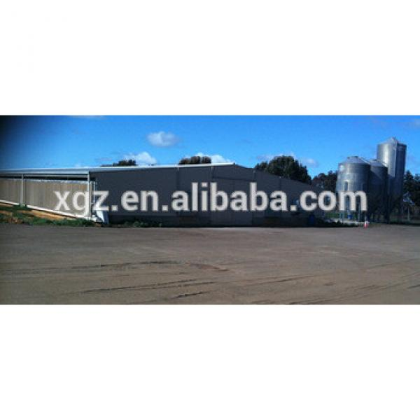 modern automatic equipment steel poultry chickens farms for sale with broiler shed #1 image
