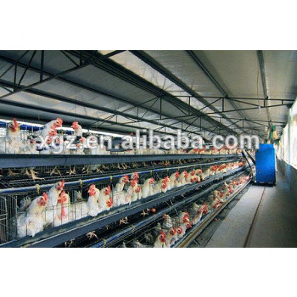 prefabricated steel structure prefab poultry house #1 image