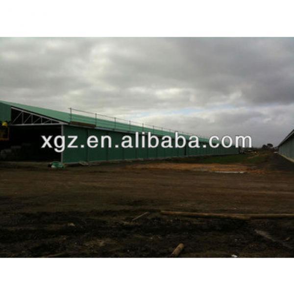 cheap steel structure prefab chicken house sale in australia #1 image