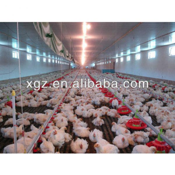 Prefabricated Broiler Poultry House/Farm Poultry Shed #1 image