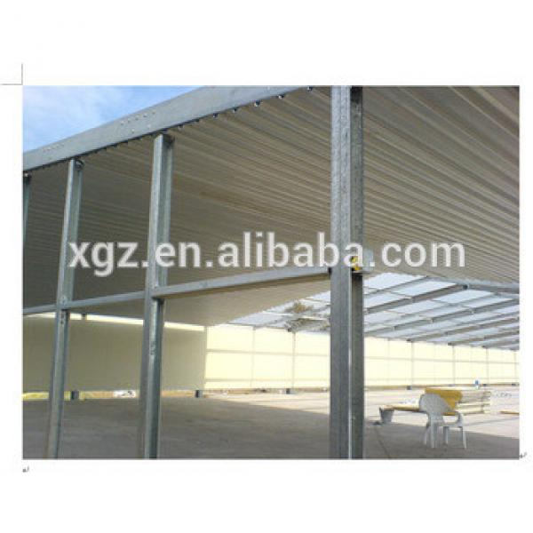 Mordern design heat insulation roof chicken house construction #1 image