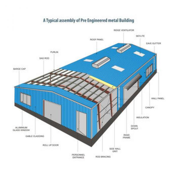 Asia pre fabricated warehouse from China (XGZGX-05) #1 image