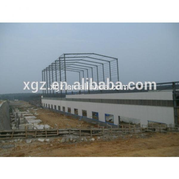 High quality steel Workshop with 5 t crane #1 image