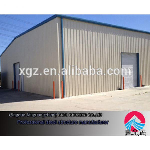 Insulated Steel structure Workshop with 5 t crane #1 image