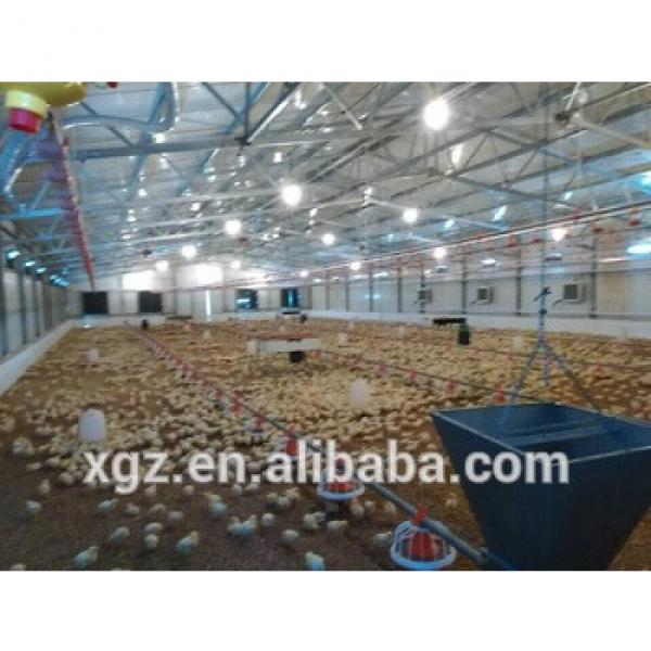 Prefabricated low cost poultry house/hen house for broiler #1 image