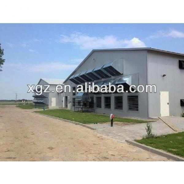 Hot Sale Steel Structure Poultry Farm Chicken House #1 image