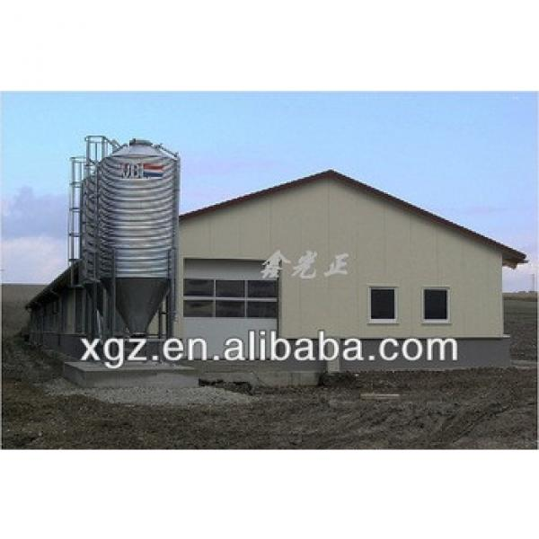 Easy And Fast Installation Prefab Poultry House #1 image