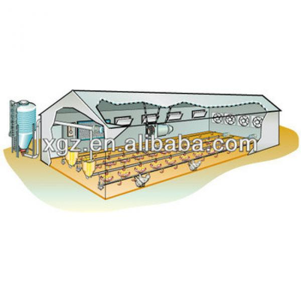 Full Equipments Chicken House/Poultry House #1 image