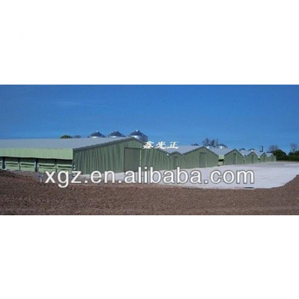 light steel structure shed poultry farm made in China #1 image