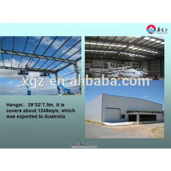 Large span steel fabric aircraft hangars #1 image