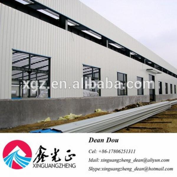Low Cost Large-span Prefabricated Steel Structure Warehouse Buildings #1 image