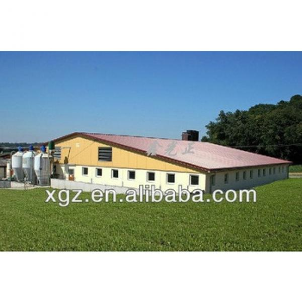 steel structure pig farming house #1 image