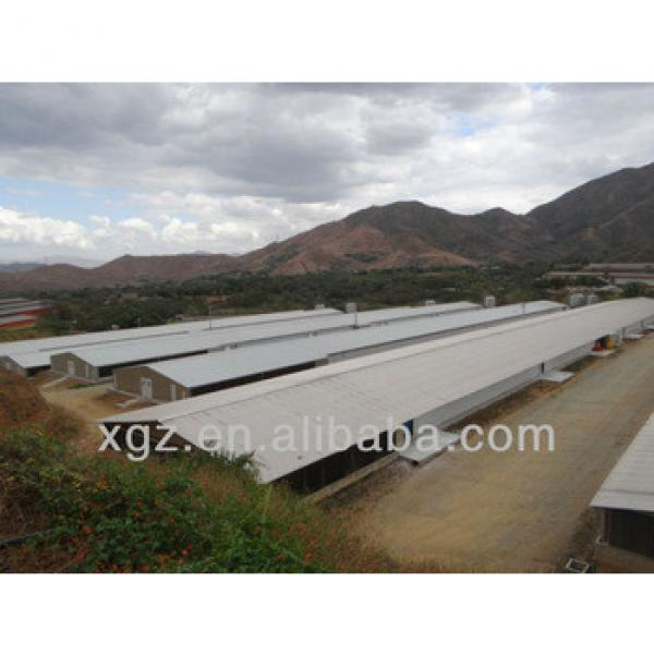 light steel structure shed for cattle/sheep/chicken from China #1 image