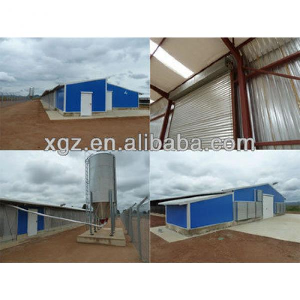 light steel structure chicken house/ Poultry House #1 image
