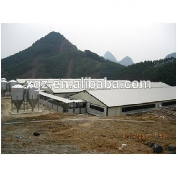 China supplier Steel Structural Egg Chicken Shed Farming Building #1 image