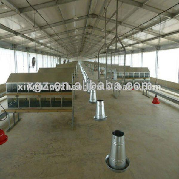 automatic control poultry farming, chicken house,chicken farming prices in china #1 image